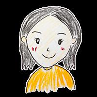 妻の似顔絵