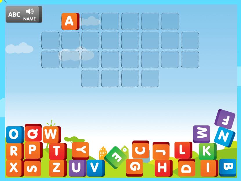 ABCya!の英語ゲーム