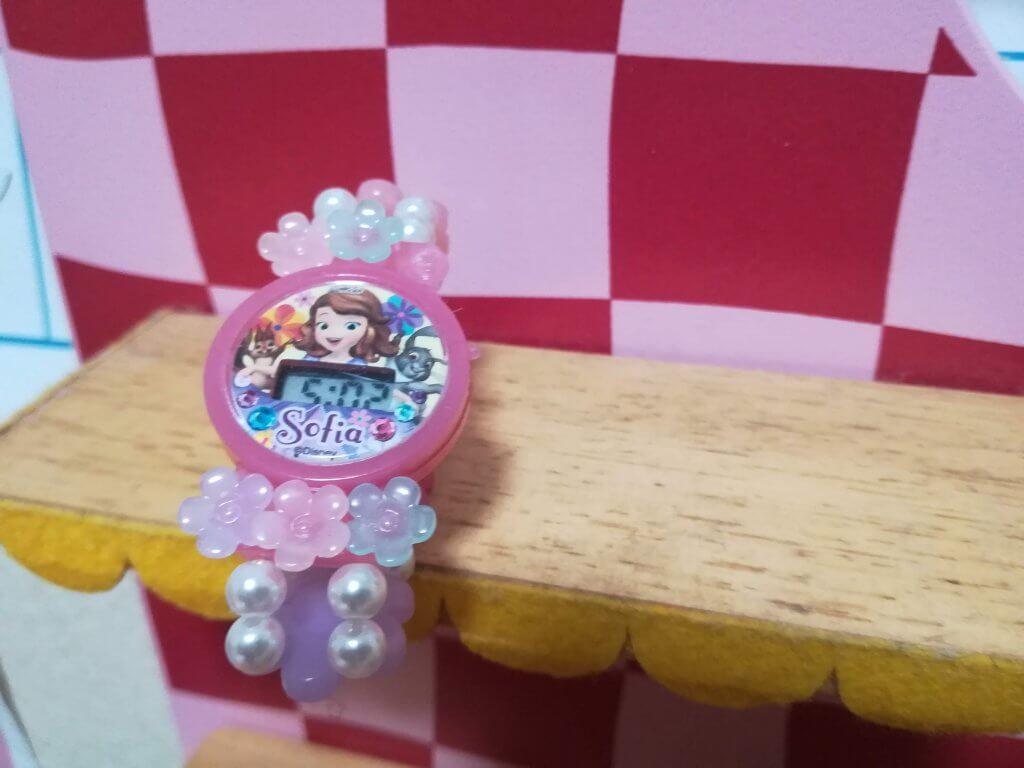 プリンセスソフィアの時計