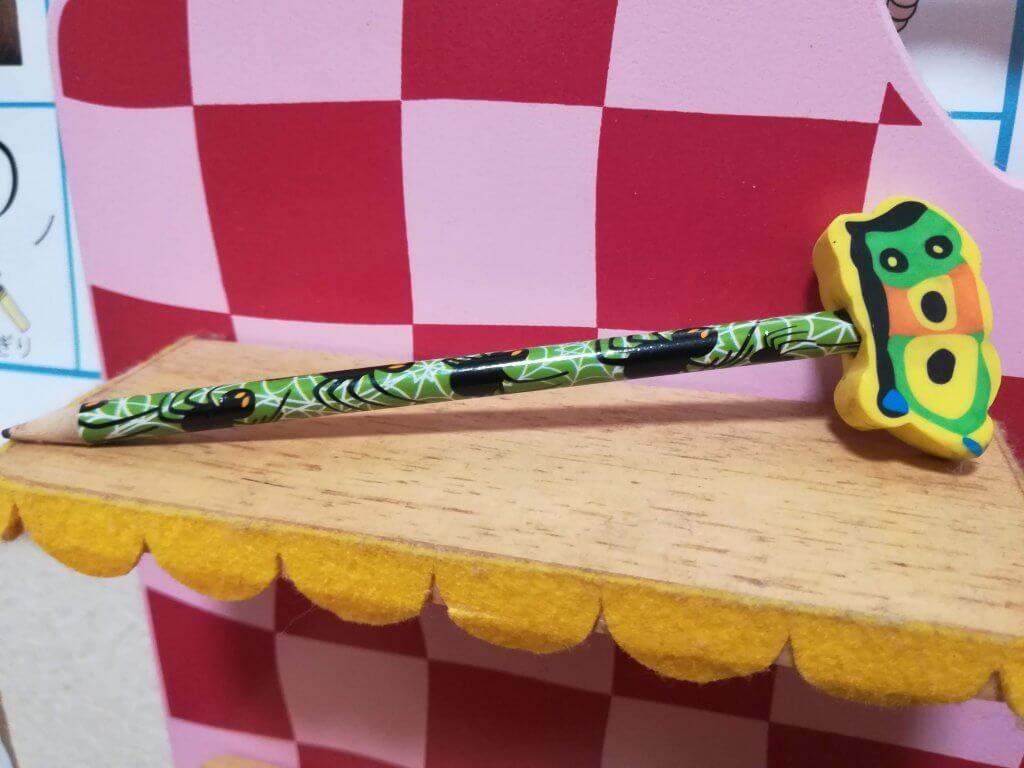 鉛筆と消しゴムのセット