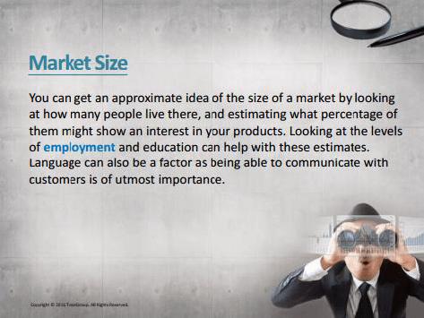 輸出に関する英語教材2