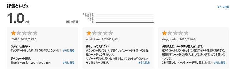 カランメソッドアプリの評判 iPhoneの場合