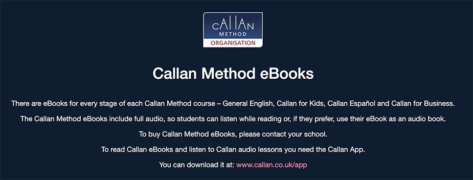 callan.co.ukでは「あなたの学校に連絡してください」と表示されるようになりました