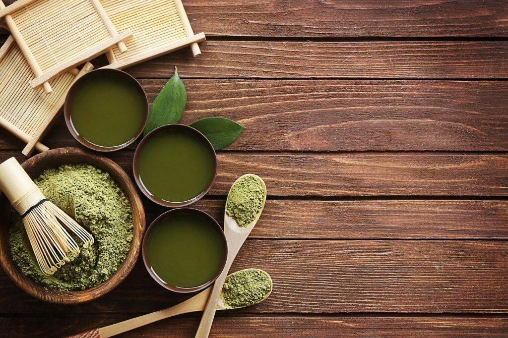 日本の抹茶